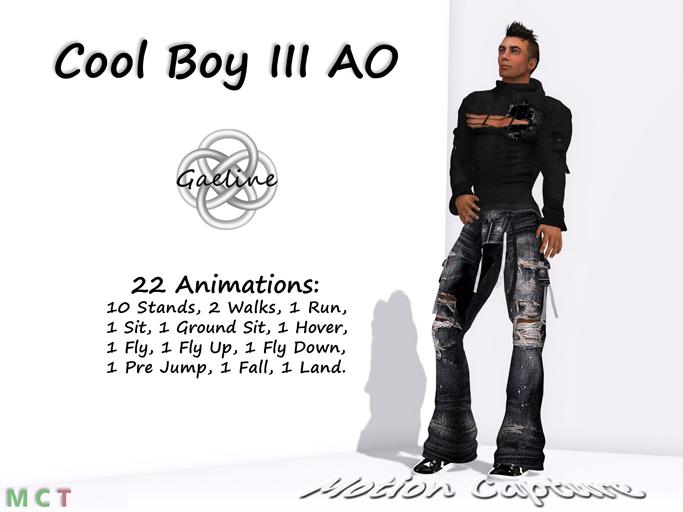 Cool Boy III AO