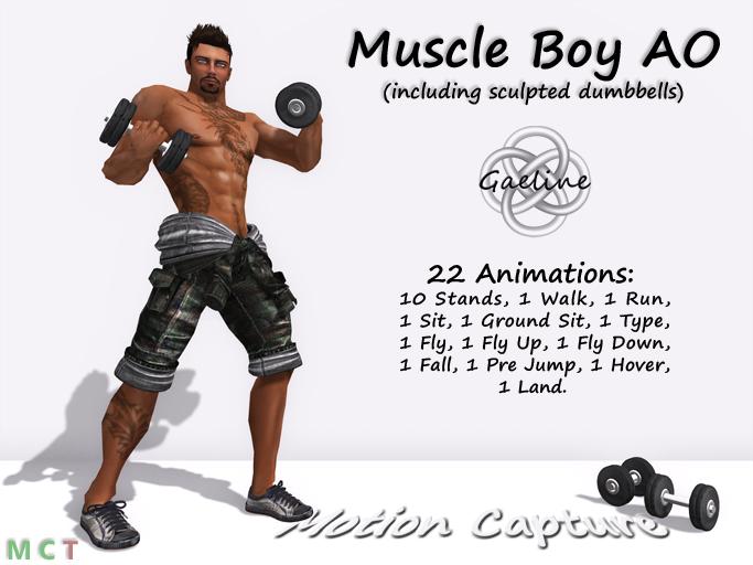 Muscle Boy AO