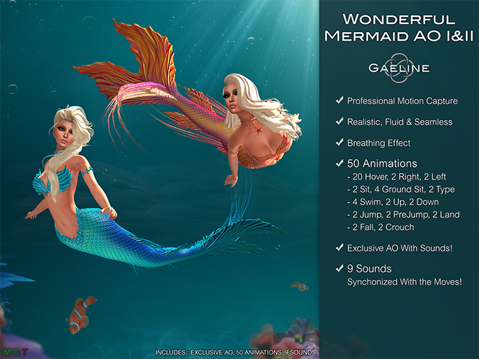 Wonderful Mermaid I&II AO