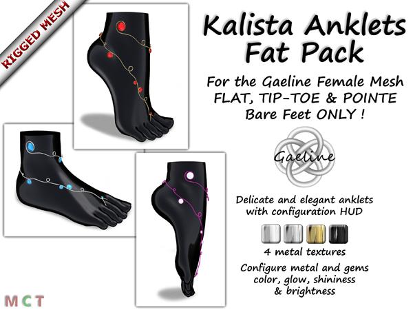Kalista Anklets