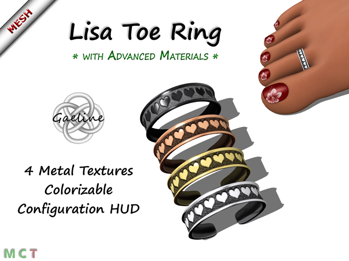 Lisa Toe Ring