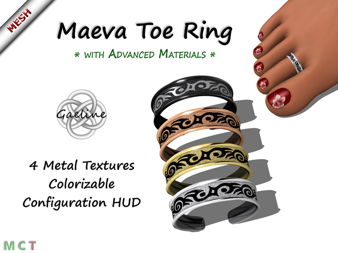 Maeva Toe Ring