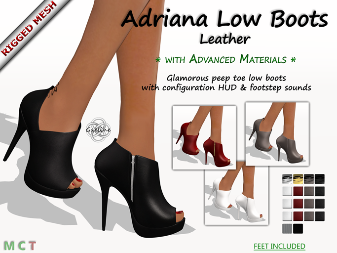 Adriana Low Boots - Leather Edition
