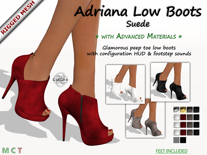 Adriana Low Boots - Suede Edition