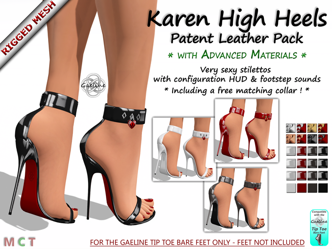 Karen High Heels - Patent Leather Edition