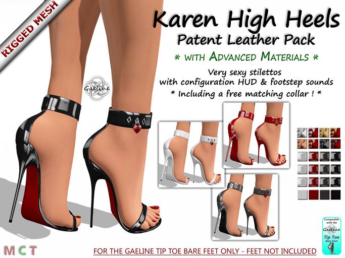 Karen High Heels - Patent Leather Edition