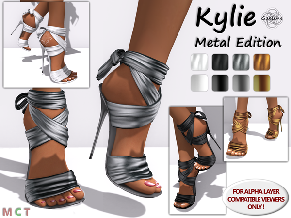 Kylie Stilettos - Metal Edition