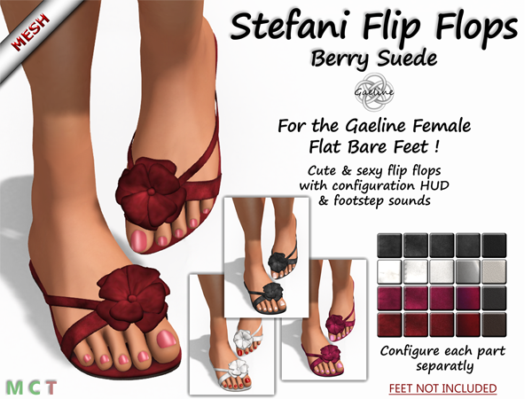 Stefani Flip Flops